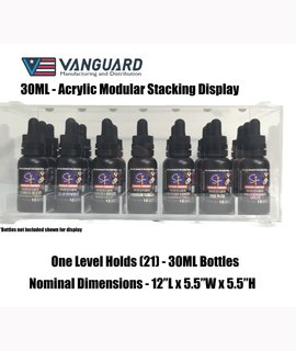 Vanguard Acrylic Display - 30ML