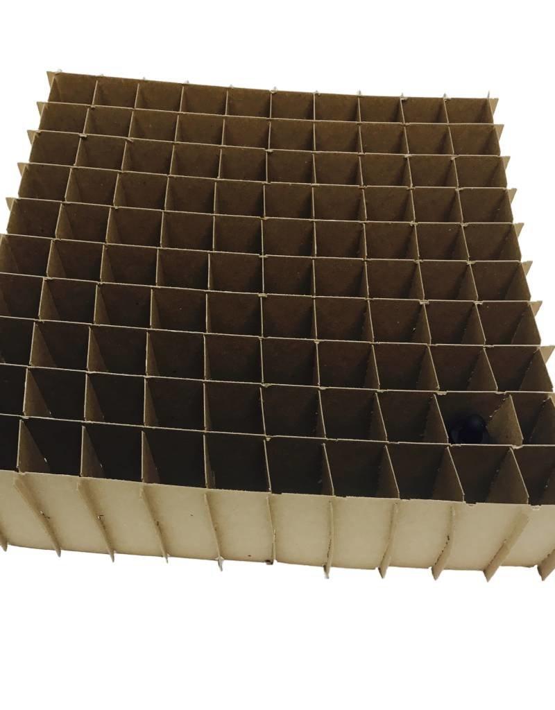 Vanguard 100 Count Box - Expandable 30ML Bottle Divider