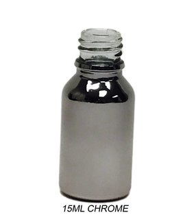 Vanguard Chrome Glass Boston Round Bottle - 18/400 Nexk -  Bottle Only