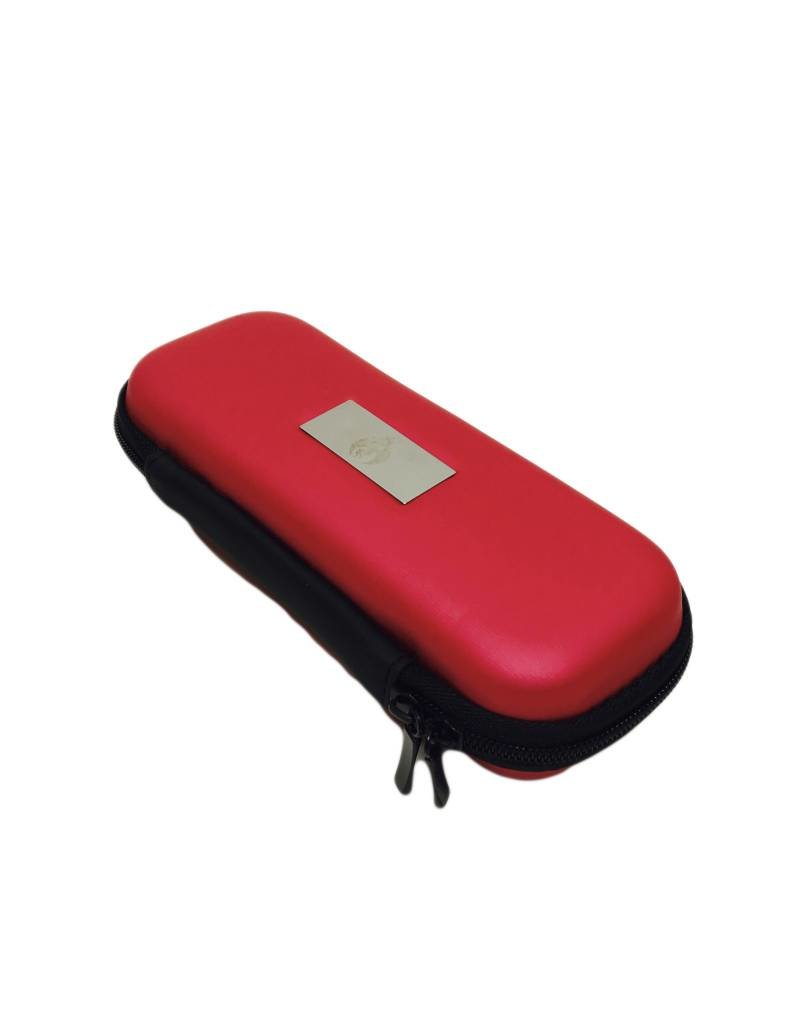 "Smokin Crow Zipper EGO Case - M3 - Cherry - NOM. 7""x 3"" x 1.5"""