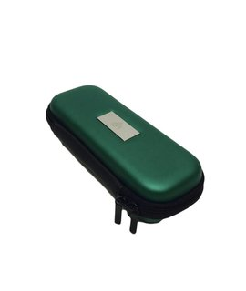 "Smokin Crow Zipper EGO Case - M3 - Green - NOM. 7""x 3"" x 1.5"""