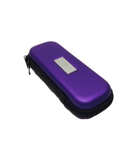 "Smokin Crow Zipper EGO Case - M3 - Purple - NOM. 7""x 3"" x 1.5"""