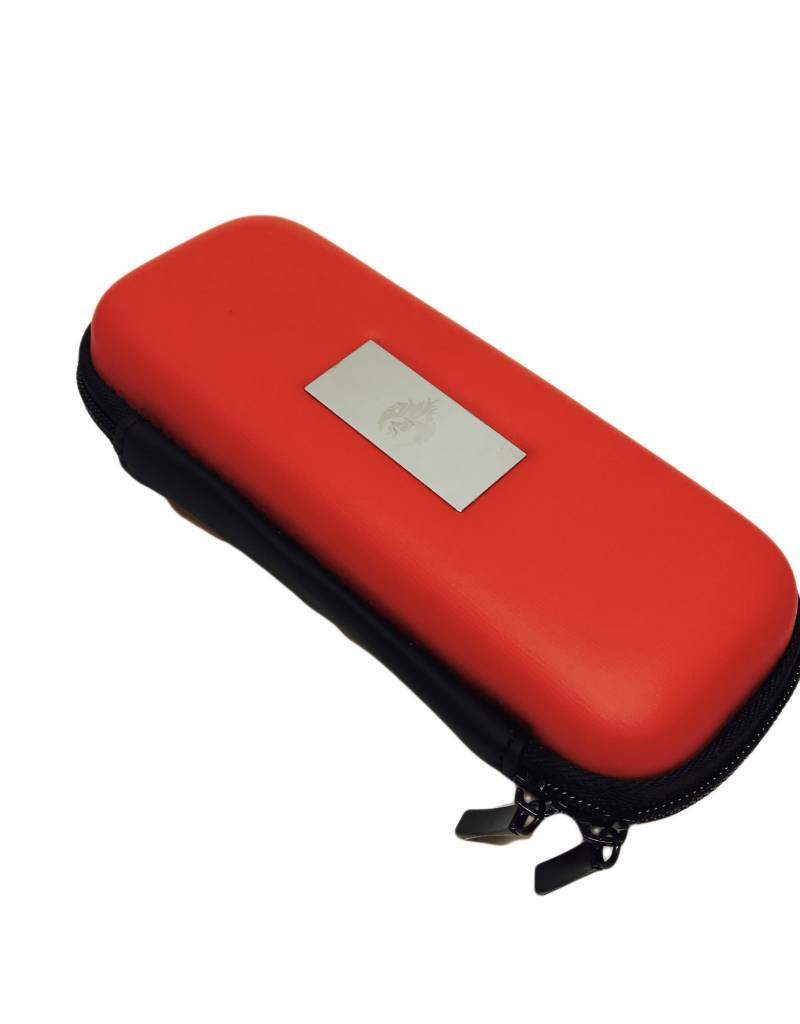 "Smokin Crow Zipper EGO Case - M4 - Red - NOM. 6""x 2.75"" x 1.75"""