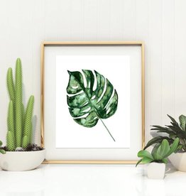 Fox & Wild Monstera Leaf Botanical