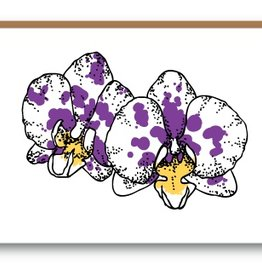 Kiss the Paper Cards - Orchid