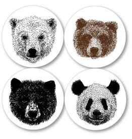 Kiss the Paper Coasters - Bear
