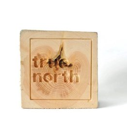 co/create 6x6 wood blocks - True North