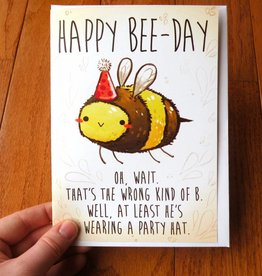Michelle Scribbles Happy Bee-Day / Card