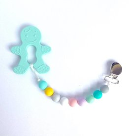 Sweetie Pie Design Co Gingerbread Teether -