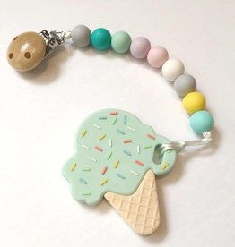 Sweetie Pie Design Co Ice Cream Teether -