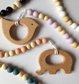 Sweetie Pie Design Co Natural Wood Teether -