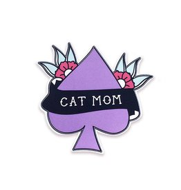 The Five15 Cat Mom Vinyl Sticker