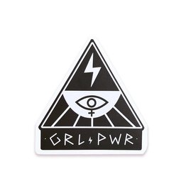The Five15 GRL PWR Vinyl Sticker