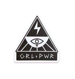 The Five15 GRL PWR Vinyl Sticker