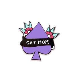 The Five15 Cat Mom Enamel Pin