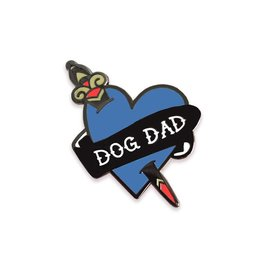 The Five15 Dog Dad Enamel Pin
