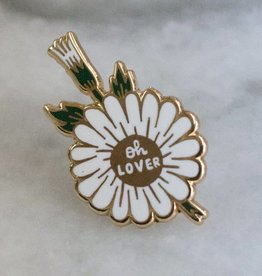 Stay Home Club Oh Lover Lapel Pin