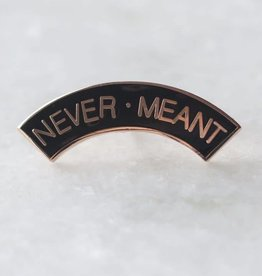 Stay Home Club Never Meant Lapel Pin