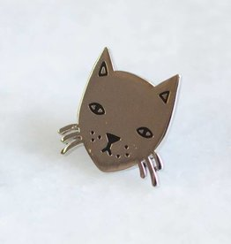 Stay Home Club Stay Home Club Cat Lapel Pin