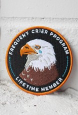 Stay Home Club Frequent Crier Patch