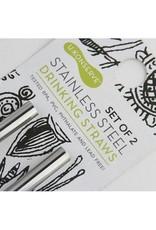 U Konserve Stainless Steel Straws - 2 Pack