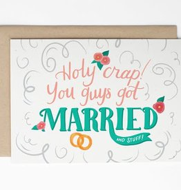 Sea + Lake Paper Co. Holy Crap! You Guys Got Married And Stuff!