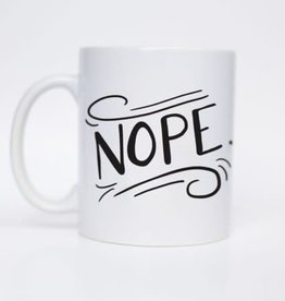 Sea + Lake Paper Co. NOPE Mug