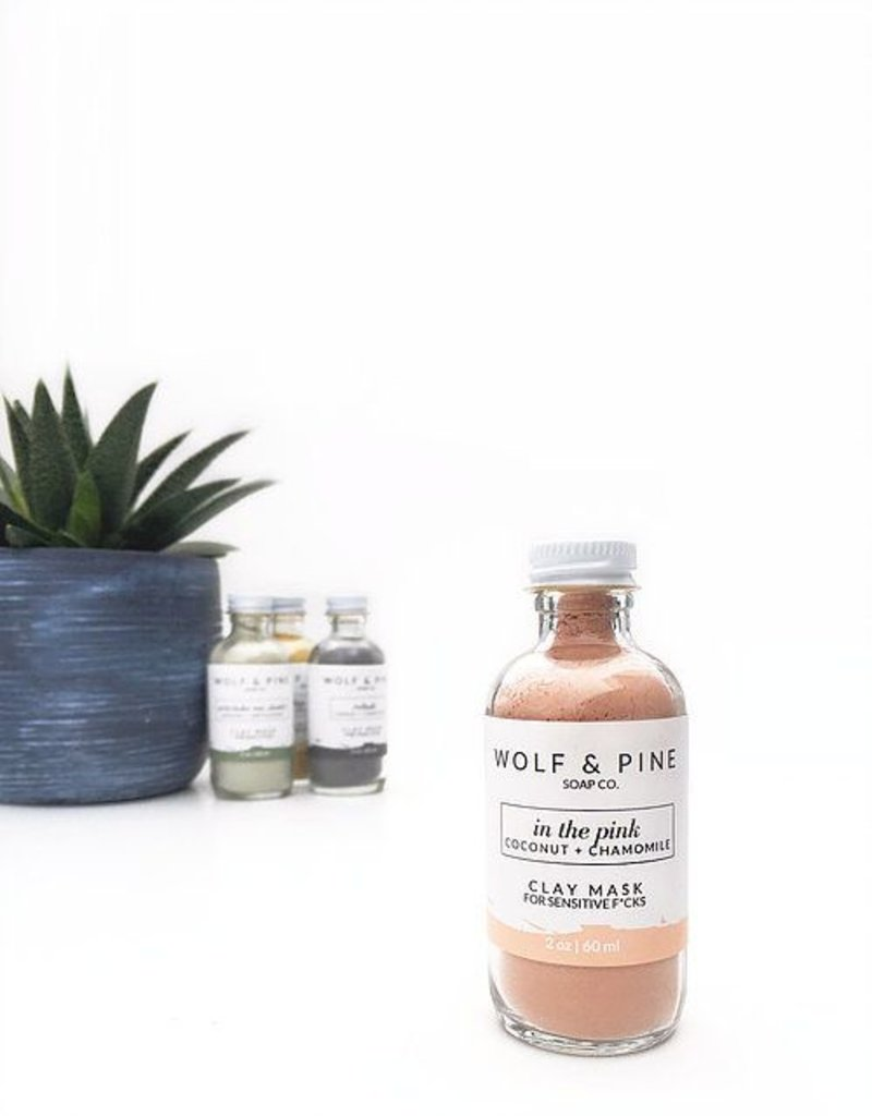 Wolf + Pine Soap Co. Clay Mask / In The Pink