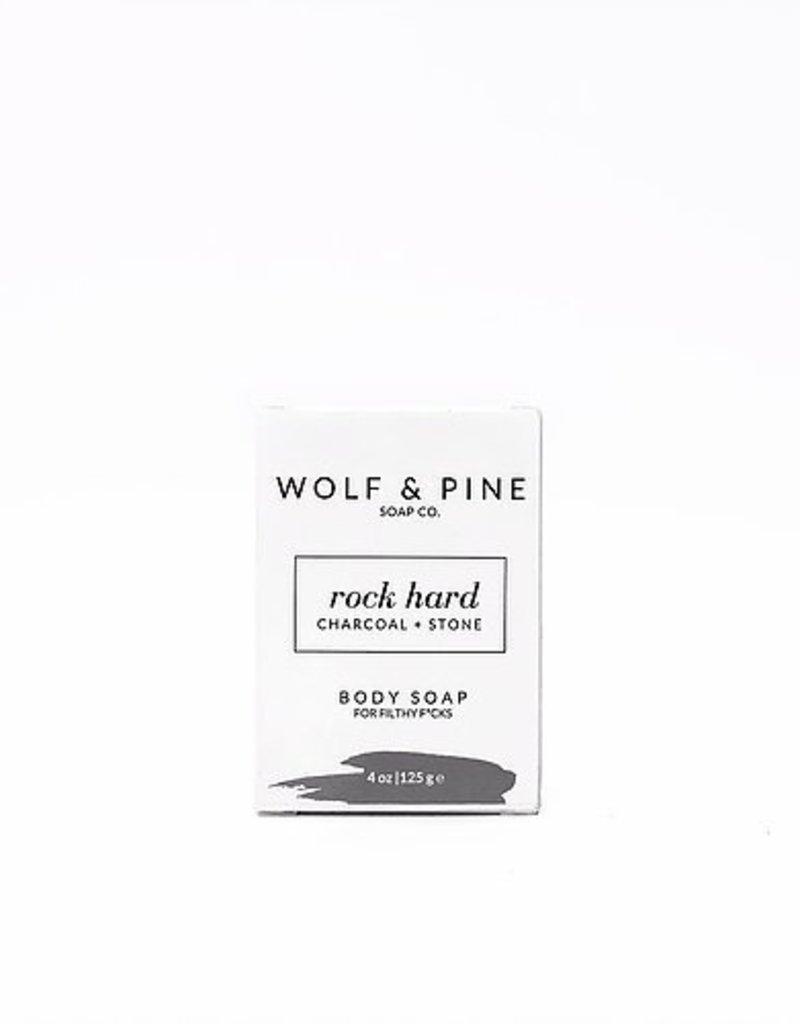 Wolf + Pine Soap Co. Body Soap / Rock Hard