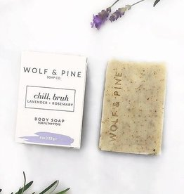 Wolf + Pine Soap Co. Body Soap / Chill, Bruh