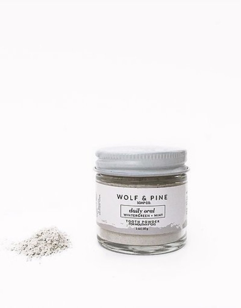 Wolf + Pine Soap Co. Tooth Powder / Daily Oral