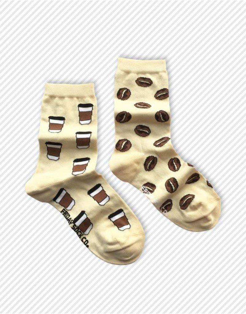 Friday Sock Co. Crew Socks - Coffee + Bean