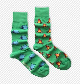 Friday Sock Co. Mid-Calf Socks - Camping