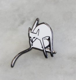 Stay Home Club Bathing Lapel Pin