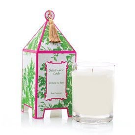 Seda France Seda Toile Pagoda 10.2 oz candle