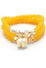 Zenzii Bead Bracelet w/ Elephant Charm