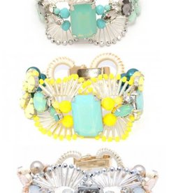 Jewelry Circle Gem Bracelet