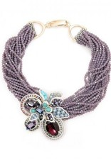 Jewelry Violet Necklace
