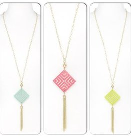 Jewelry Diamond Tassel Necklace