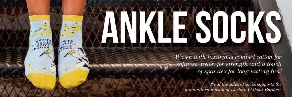 Blue Q Womens Ankle Socks