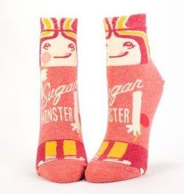 Blue Q Blue Q Womens Ankle Socks Sugar Monster