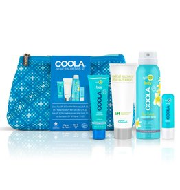 Coola Coola 4 Piece Organic Suncare Travel Set
