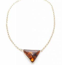 Zenzii Love Triangle Necklace