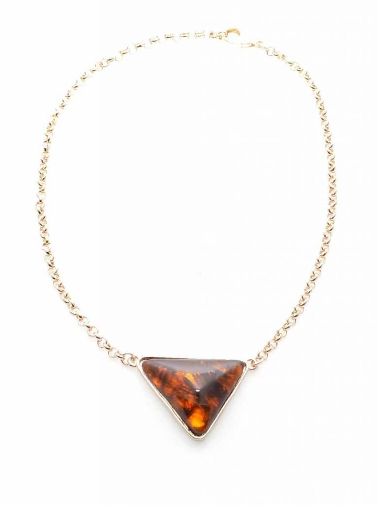 Jewelry Love Triangle Necklace