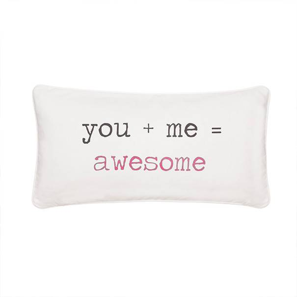 Levtex You + Me=Awesome Pillow