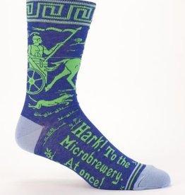Blue Q Blue Q Mens Socks Microbrewery