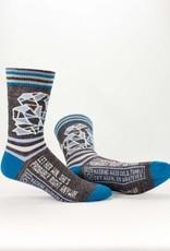 Blue Q Blue Q Mens Socks Let Her Win