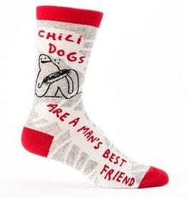 Blue Q Men's Socks Chili Dogs
