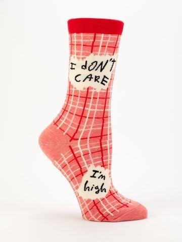 Blue Q Blue Q Womens Socks I Don't Care
