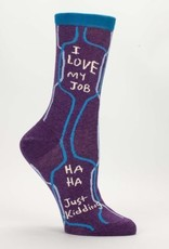 Blue Q Womens Socks Love My Job